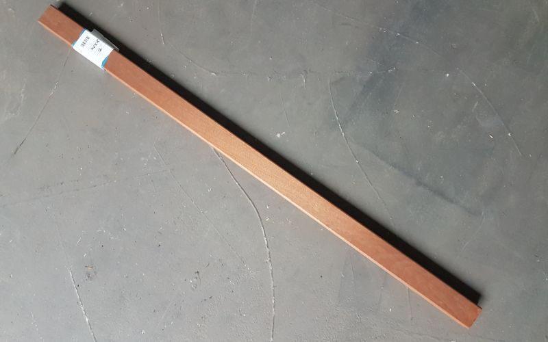 balustrade onderregel klassiek - 1500x70x35, mahonie