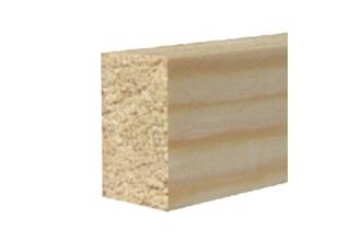 Afwerkprofiel rechthoekig grenen 14x30x2400 bundel 5 stuks