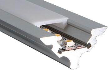 aluminium hoekprofiel voor led verlichtingstrip 2000x21x21