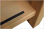 Antislip rubber strip