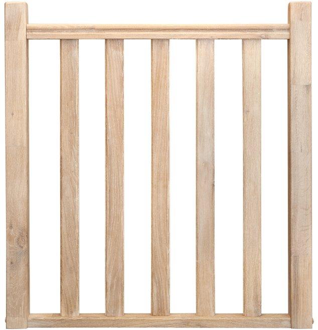 Balustrade hekwerk traditioneel model 11 3200x1000 eikenhout