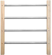 balustrade hekwerk modern model 7 3200x1000 dennenhout