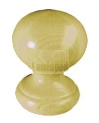 Sierknop traditioneel 115x90 grenen