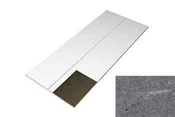 Traprenovatie stootbord 1300x400 beton