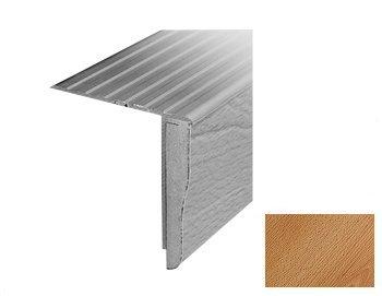 Traprenovatie aansluittrede 1300x65 beuken / zilver