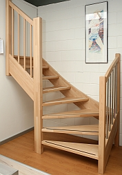 Houten balustrade categorie plaatje stair care