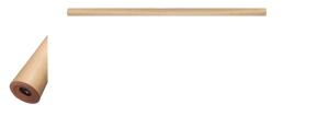 Trapleuning recht niet buigbaar PVC 1200x45 beuken kleur