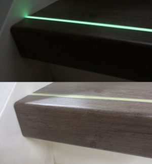 lichtgevende-aluminium infrees strip glow in the dark geel