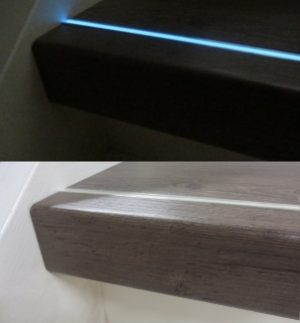 lichtgevende-aluminium infrees strip glow in the dark wit