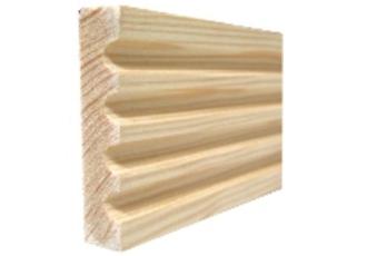 Sierlijst grenen 9x50x2400 bundel 5 stuks