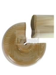 Trapleuning eindkrul 100x55 grenen