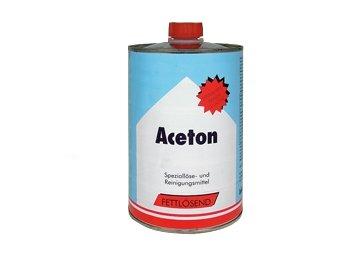 Aceton schoonmaak blik van 1 liter