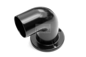wand afsluiting staal omm leuning zwart